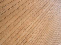 Plataforma de madeira Imagens de Stock Royalty Free