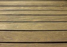 Plataforma de madeira velha Imagens de Stock Royalty Free
