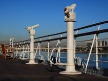 Plataforma de observação do navio Fotografia de Stock Royalty Free