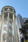 A plataforma de observação em Hong Kong Park Fotografia de Stock
