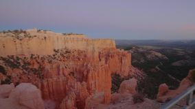 Plataforma de observación en Bryce Canyon National Park en Utah