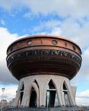 Plataforma de observación en el centro de la familia de Kazán, Kazán el Kremlin, Kazán Rusia Foto de archivo