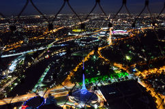 Plataforma de observação da torre de Eureka (Eureka Skydeck 88) - Melbourne Imagem de Stock Royalty Free