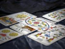 Plataforma de Tarot Imagem de Stock