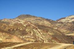 Plataforma Death Valley de los pintores Fotos de archivo libres de regalías