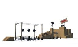 Plataforma del juego Fotos de archivo