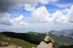 Plataforma del norte en pico del wutai imagenes de archivo