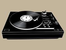 Plataforma do DJ Fotografia de Stock Royalty Free