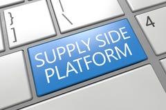 Plataforma do lado da oferta Imagem de Stock Royalty Free