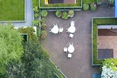 Plataforma do telhado Imagens de Stock Royalty Free