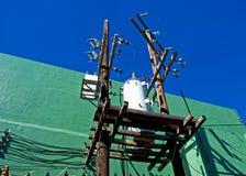 Plataforma do transformador Imagem de Stock Royalty Free
