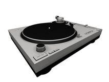 Plataforma giratória 01 do DJ Imagens de Stock Royalty Free