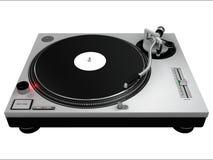 Plataforma giratória 3 do DJ Fotos de Stock Royalty Free