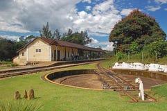 Plataforma giratória da estrada de ferro Foto de Stock