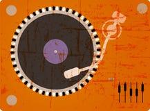 Plataforma giratória do DJ Fotografia de Stock Royalty Free