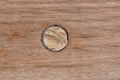 Plataforma no navio Textura de madeira Imagem de Stock Royalty Free