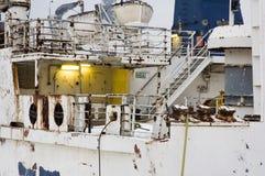 Plataforma oxidada Fotografia de Stock Royalty Free