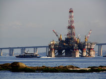Plataforma petrol?fera 2 Fotos de Stock