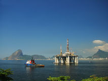 Plataforma petrolífera 24 Fotografia de Stock Royalty Free
