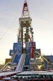 Plataforma petrolífera foto de stock royalty free