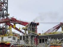 Plataforma petrolífera Fotos de Stock