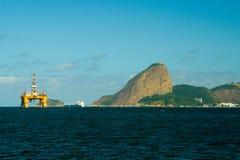 Montanha de Sugarloaf em Rio de Janeiro imagem de stock