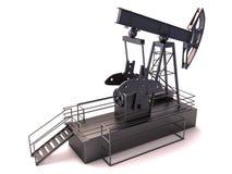 Plataforma petrolera   Imagenes de archivo