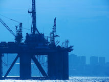 Plataforma petrolera Foto de archivo