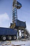 Plataforma petrolera móvil Foto de archivo
