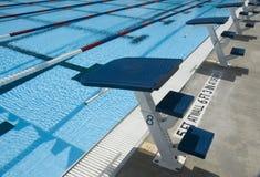 Plataformas da competição de mergulho Fotos de Stock Royalty Free