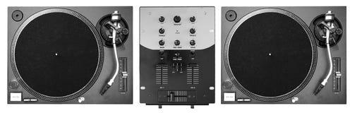 Plataformas do DJ Fotografia de Stock