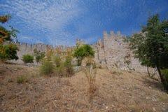 Platamon Castle στην Ελλάδα Στοκ Εικόνα