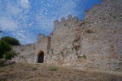 Platamon Castle in Greece Royalty Free Stock Photo