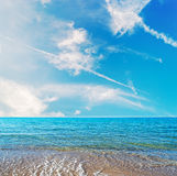 Platamona beach Stock Photography