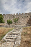 Platamonas城堡希腊 免版税库存照片