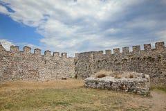 Platamonas城堡希腊 免版税库存图片