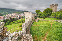 Platamonas ancient castle Greece. HDR image Stock Photo