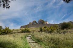 Platamonas Castle in Greece Stock Photo