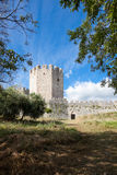 Platamonas Castle in Greece Stock Photos