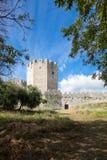 Platamonas Castle in Greece Stock Photos