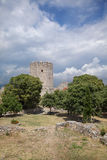 Platamonas castle Greece royalty free stock image