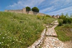 Platamonas slott Arkivfoton