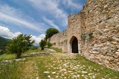Platamonas slott Fotografering för Bildbyråer