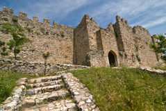 Platamonas slott Arkivbilder