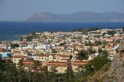 Platanias, Crète photographie stock
