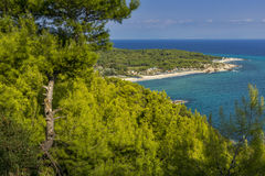 Platanitsi Beach, Chalkidiki, Sithonia, Central Macedonia Royalty Free Stock Images
