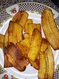 Platano frito Fotografía de archivo