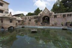 Plataran Tamansari浴在Kraton 免版税图库摄影