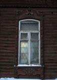 Platband van het Siberische venster Stock Foto