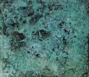 Plate. Green metal plate texture background Royalty Free Stock Images